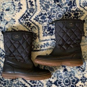 COACH Quilted All Weather Boot